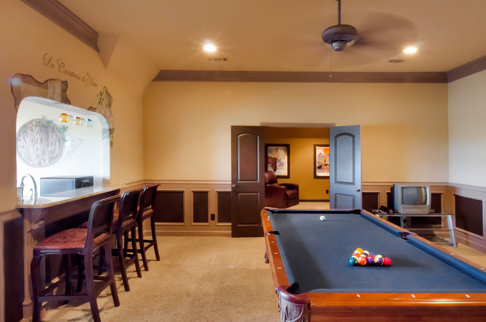 Gamerooms Gallery For D R Moss Quality Custom Homes D R