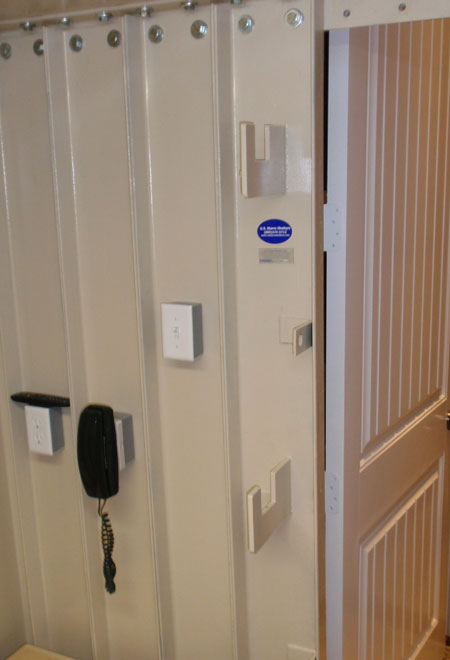Safe room construction d r moss quality custom homes for Safe rooms for homes